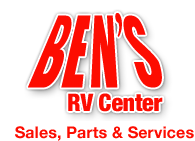 Ben's RV Center Retina Logo